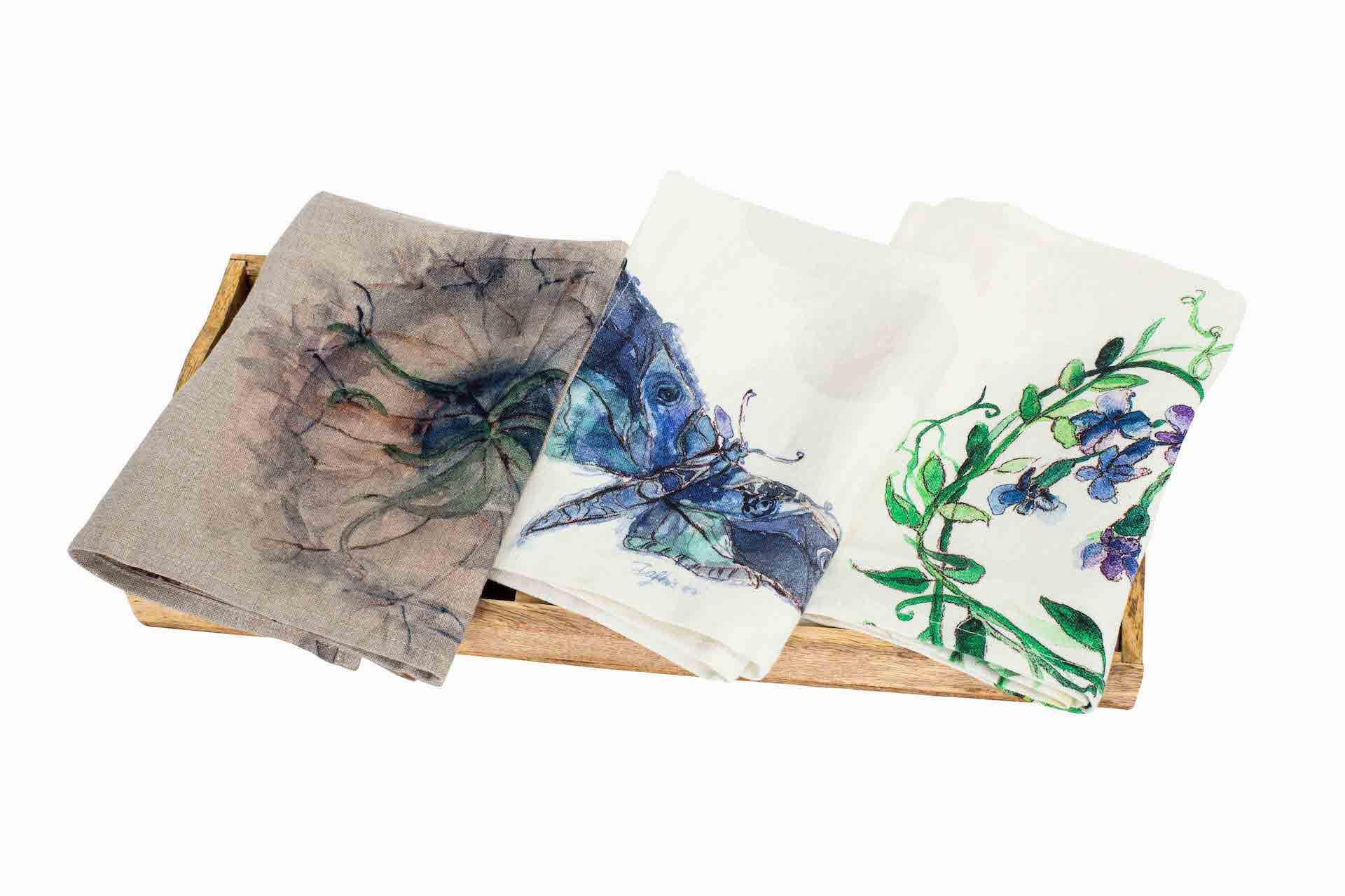 premium artisan linens, silks, and woolens from Poland from Contessa Fine Imports